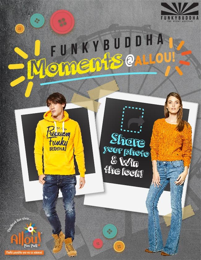 FUNKY BUDDHA Moments @ Allou! Fun Park