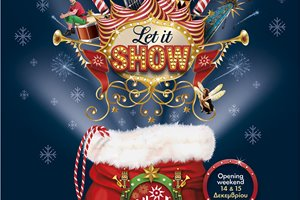 This Christmas Let It Show at Allou! Fun Park!