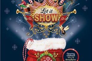 Φέτος τις γιορτές Let It Show μόνο στο Allou! Fun Park!