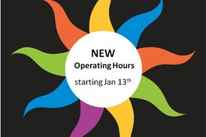 NEW Operating Hours!